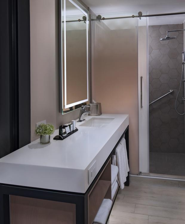 Banheiro padrão Hotel Hyatt Centric Guatemala City Cidade da Guatemala