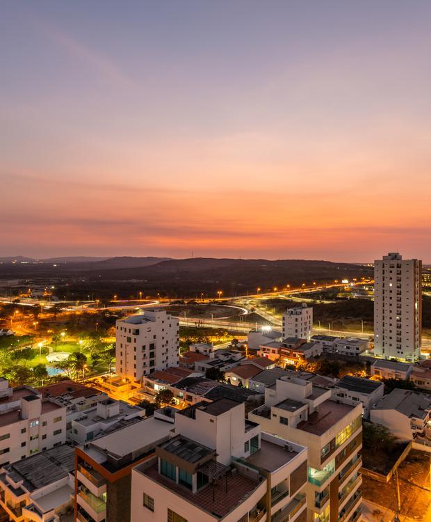 Vista da cidade Sonesta Hotel Barranquilla  Barranquilla