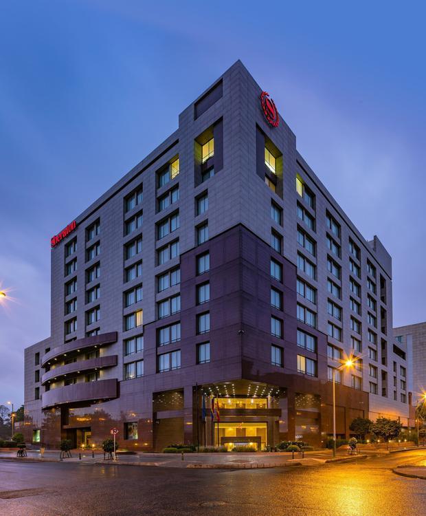 Fachada Sheraton Bogota Hotel Sheraton Bogotá Hotel Bogota