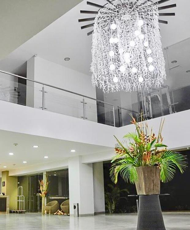 Lobby GHL Relax Hotel Makana Resort Tonsupa