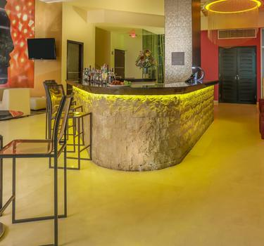 Bar lobby asia ghl collection barranquilla hotel