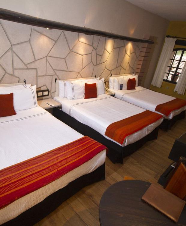 Quarto Triple Sonesta Hotel Posadas del Inca Yucay Yucay, Peru