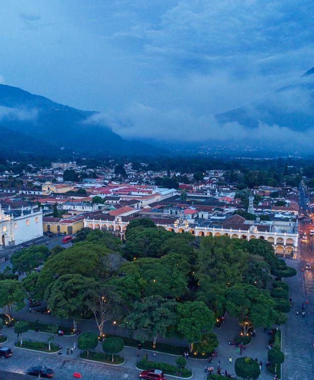 Antigua Park Aerial Hotel Hyatt Centric Guatemala City Cidade da Guatemala