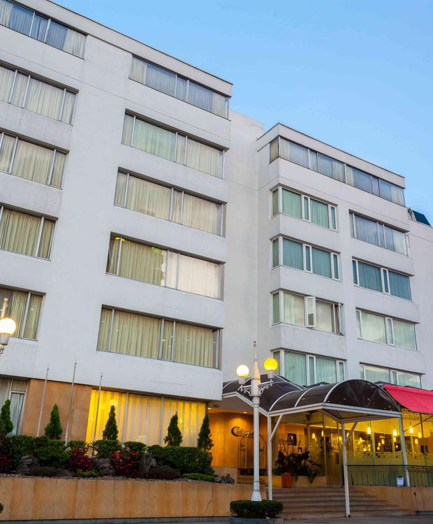 Fachada Belvedere GHL Style Hotel Belvedere Bogota