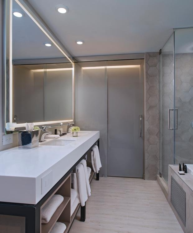 Banheiro Junior Suite Hotel Hyatt Centric Guatemala City Cidade da Guatemala