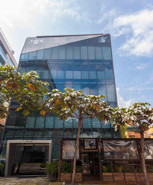 fachada Hotel GHL Collection 93 Bogota