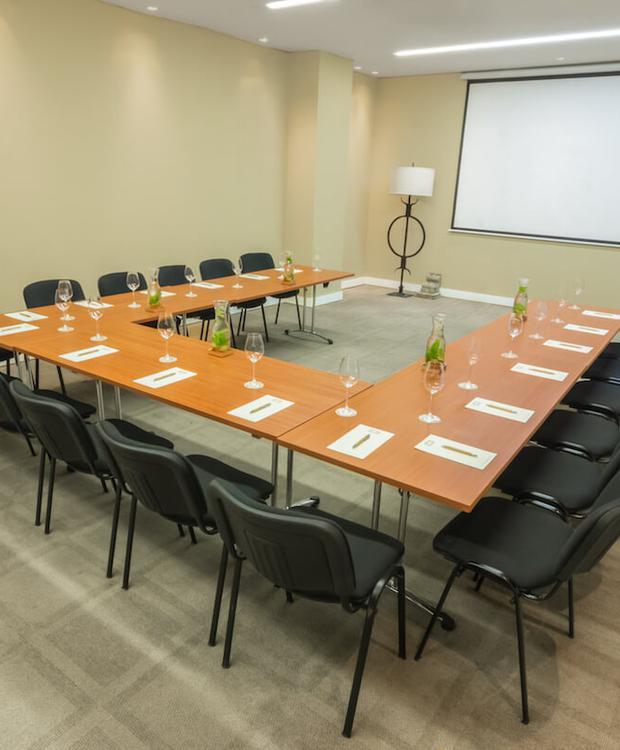 Sala de reuniões Bastión Luxury Hotel Cartagena das Indias