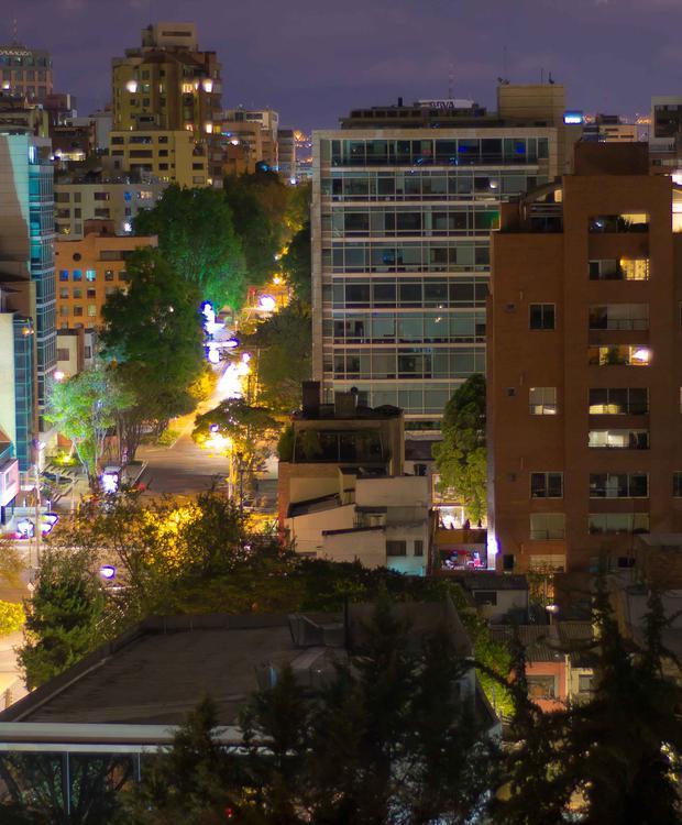 Vista Bogotá Bioxury Hotel Bogota