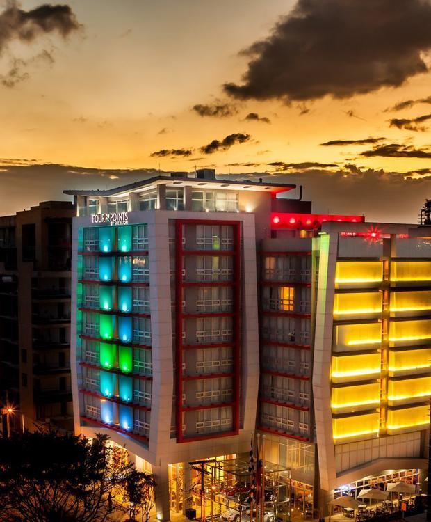 Façada Hotel Four Points By Sheraton Bogotá Bogota
