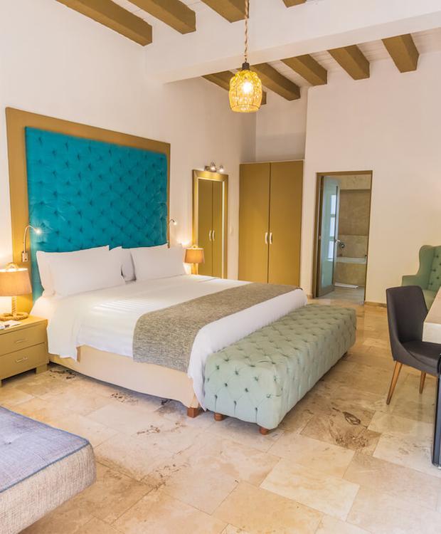 Quarto Hotel GHL Collection Armería Real Cartagena das Índias