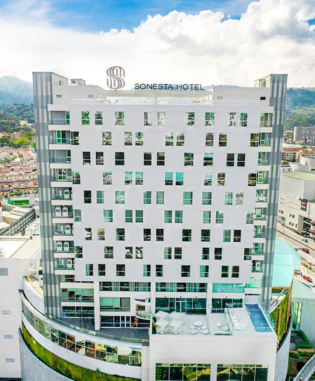 Fachada Sonesta Hotel Bucaramanga  Bucaramanga