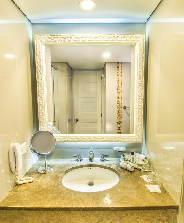 Banheiro Twin GHL Hotel Hamilton