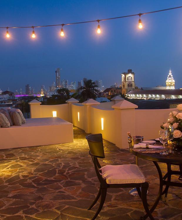 Ponto de vista do Bastión Luxury Hotel Bastión Luxury Hotel Cartagena das Índias
