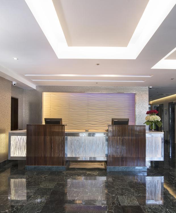 Recepção Sonesta Hotel El Olivar Lima