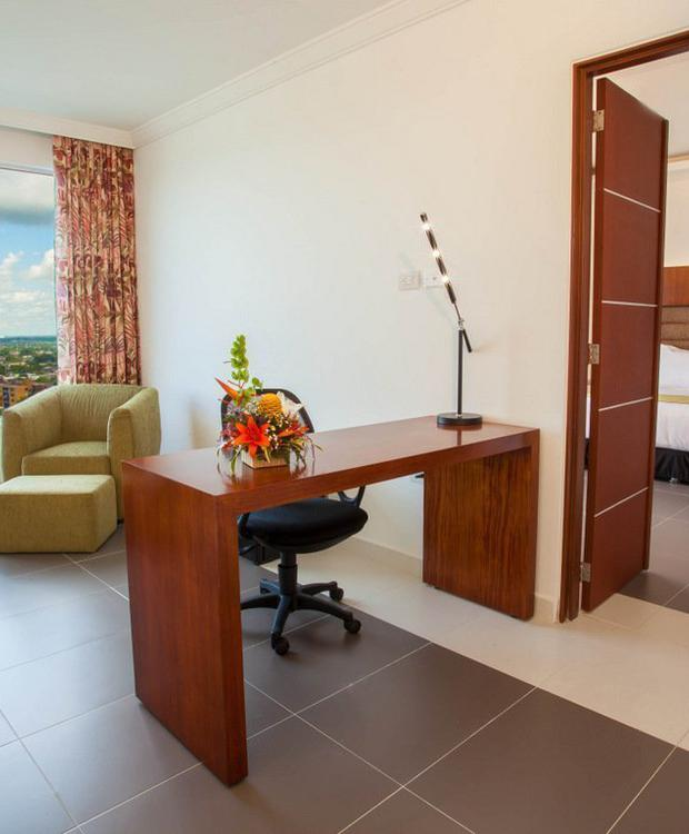 Junior Suite GHL Hotel Grand Villavicencio Villavicêncio