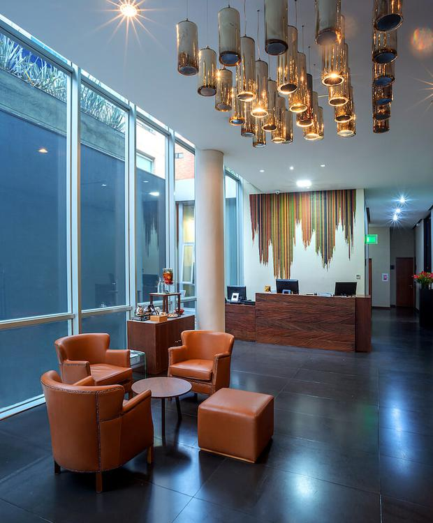 Lobby Hotel GHL Collection 93 Bogota
