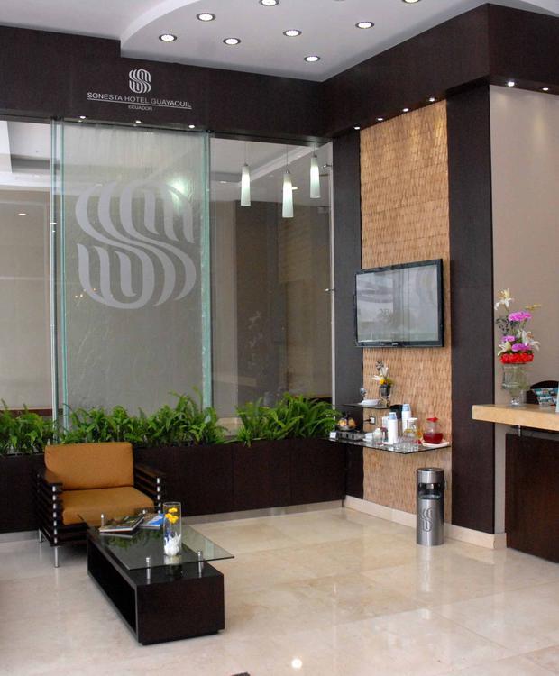 Entrada Sonesta Hotel Guayaquil Guaiaquil