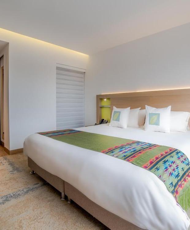 Quarto Standard Deluxe Biohotel Organic Suites Bogota
