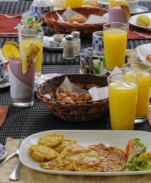 Pequeno almoço GHL Relax Hotel Makana Resort Tonsupa