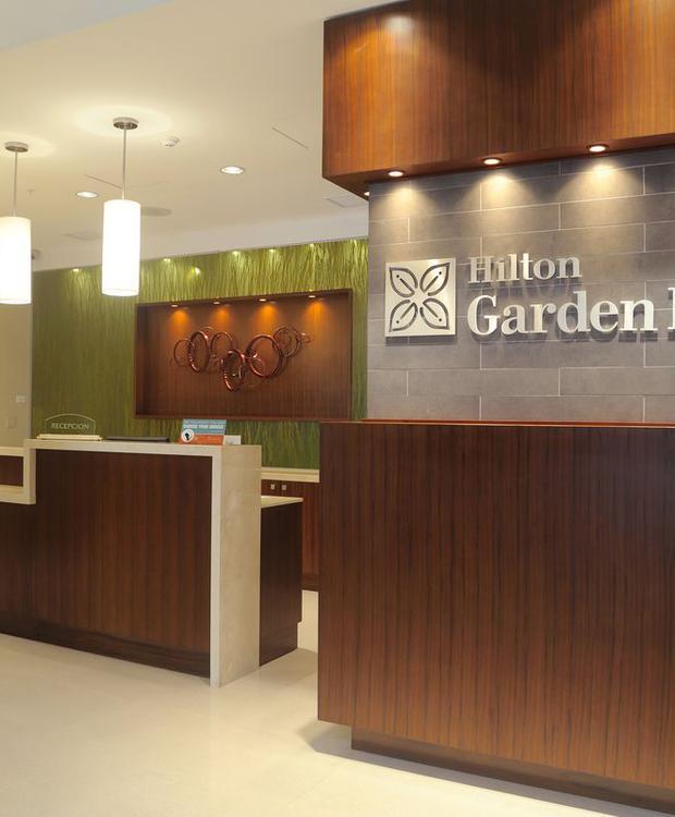 Recepção Hotel Hilton Garden Inn Panamá Cidade do Panamá