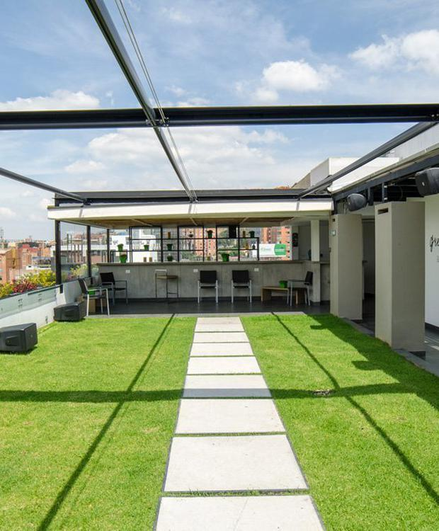 Terraço Biohotel Organic Suites Bogota