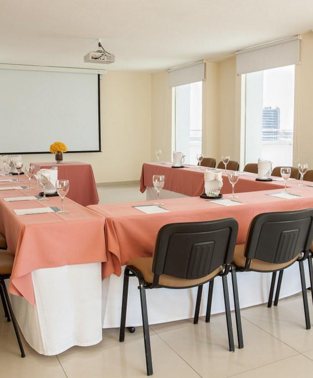 Salão terrase Sonesta Hotel Barranquilla Barranquilla