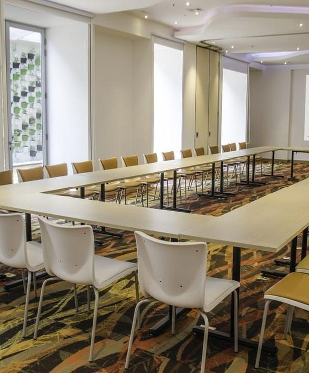 Sala de reuniões Biohotel Organic Suites Bogota