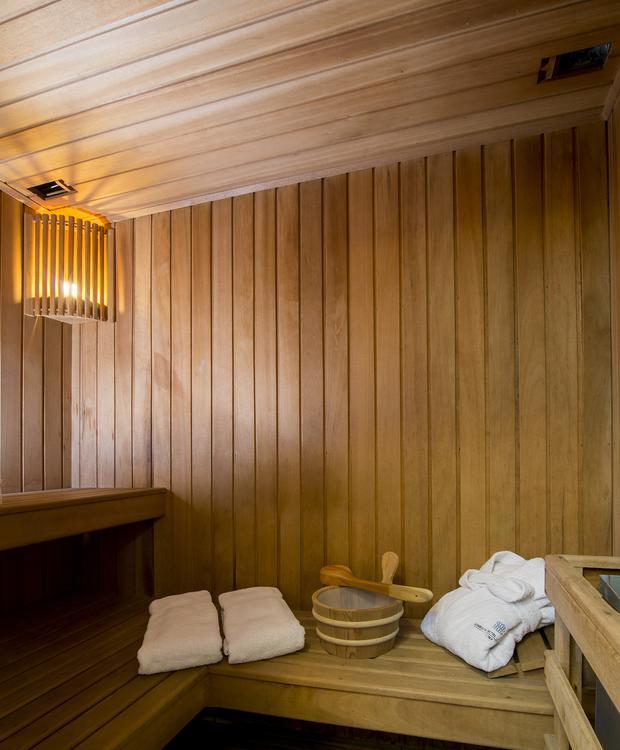 Suite Sauna Sonesta Hotel El Olivar Lima