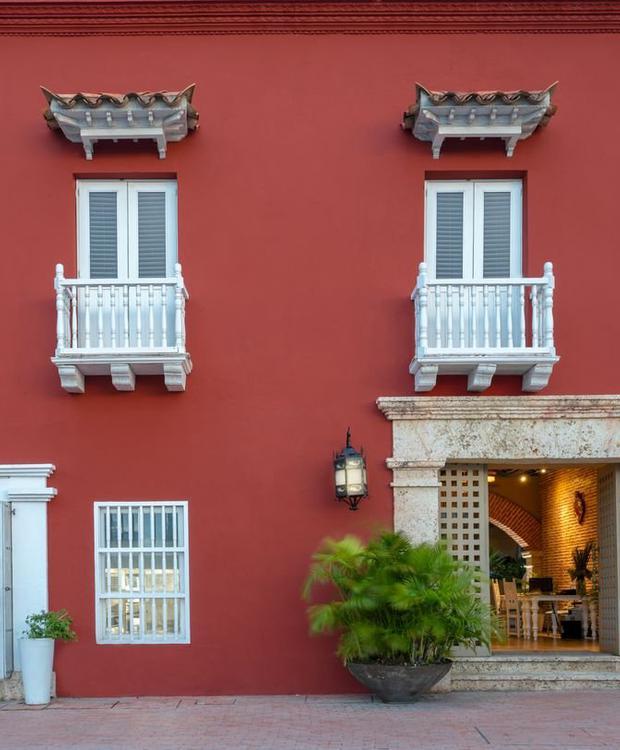 Fachada Hotel GHL Collection Armería Real Cartagena das Índias