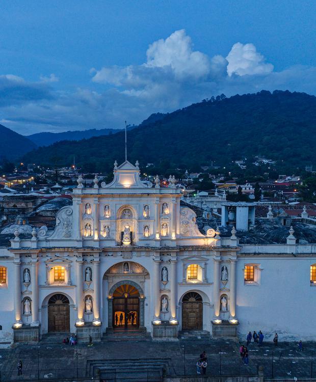 Catedral Antiga Hotel Hyatt Centric Guatemala City Cidade da Guatemala