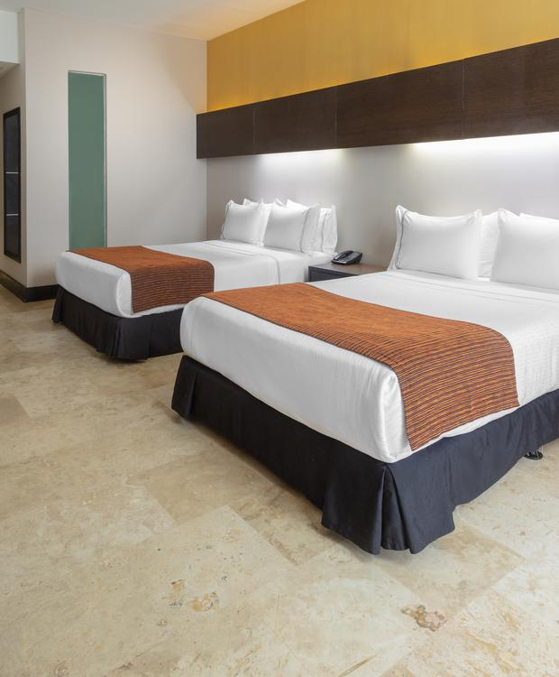 Quarto Twin Sonesta Hotel Barranquilla  Barranquilla