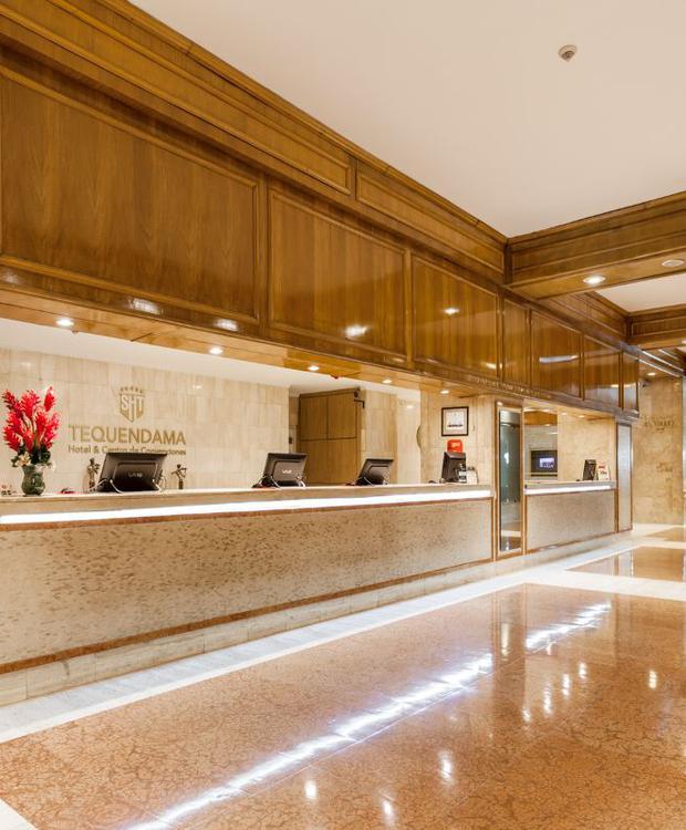 Lobby Hotel Tequendama Bogota