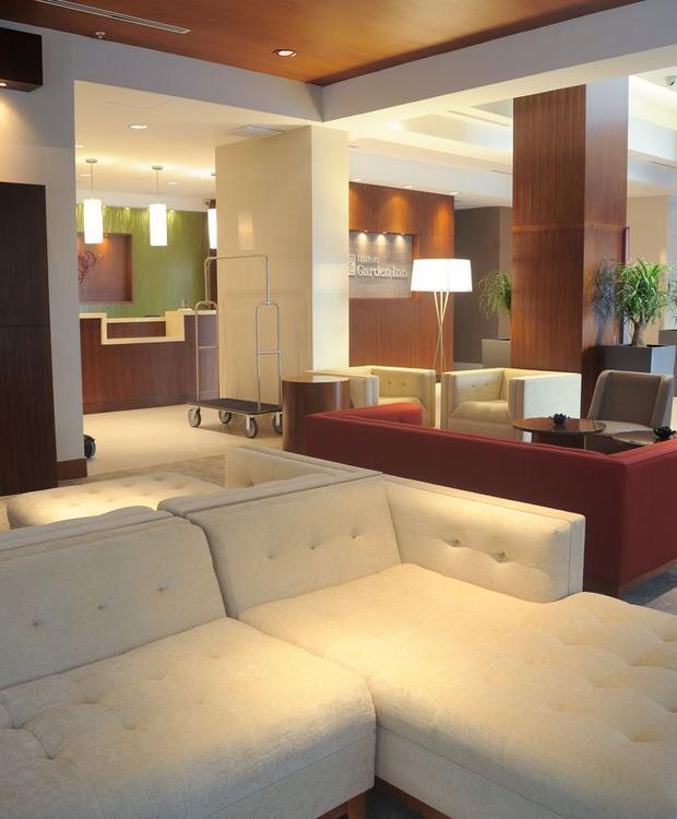 Lobby Hotel Hilton Garden Inn Panamá Cidade do Panamá