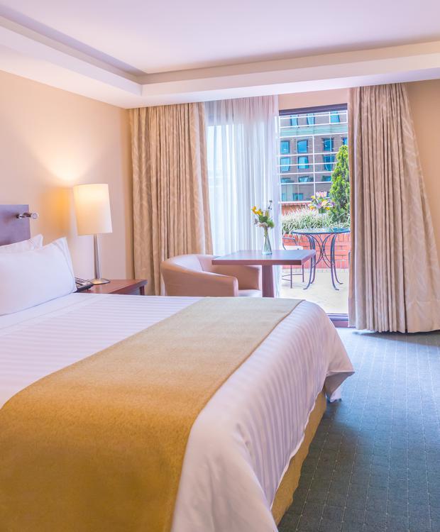 Quarto GHL Hotel Capital Bogota