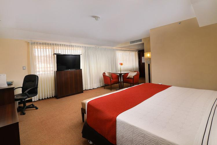 Quarto matrimonial executivo, 1 cama king sonesta hotel cusco