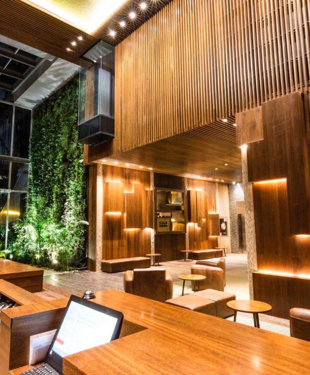 Recepción y Lobby Bioxury Hotel Bogota