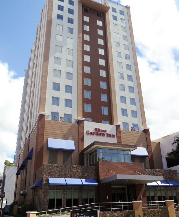 Fachada Hotel Hilton Garden Inn Panamá Cidade do Panamá