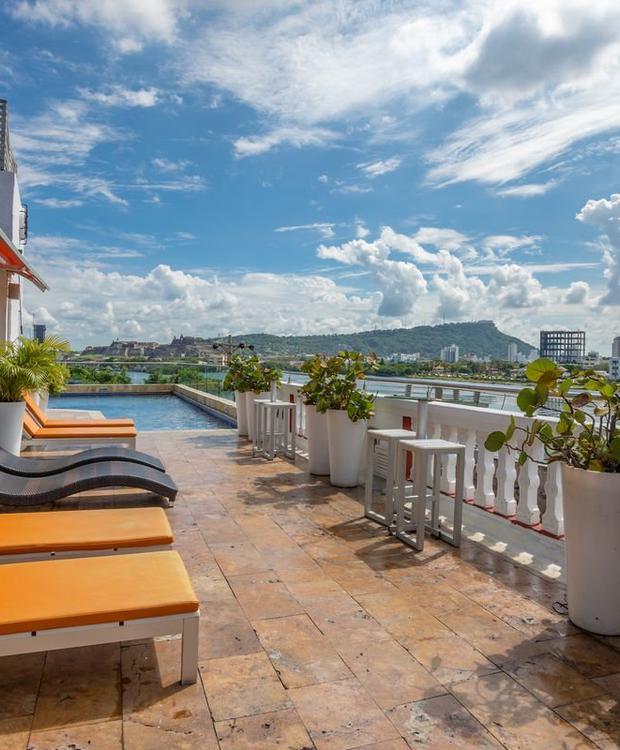 Piscina Hotel GHL Collection Armería Real Cartagena das Índias