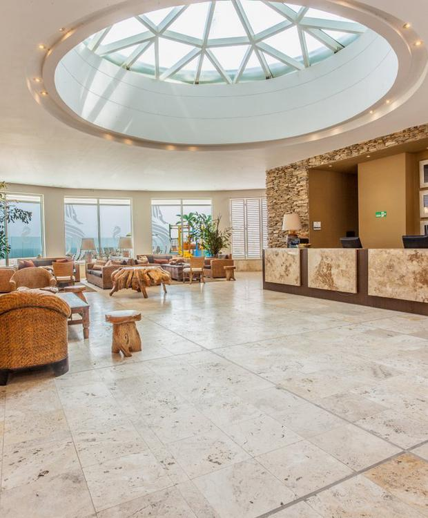 Recepção Hotel GHL Relax Corais de Indias Cartagena das Índias