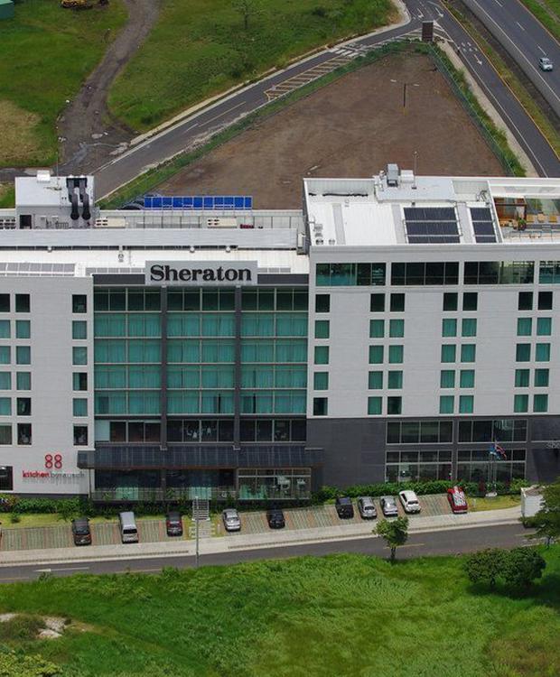 Vista aerea Sheraton San José Hotel San José