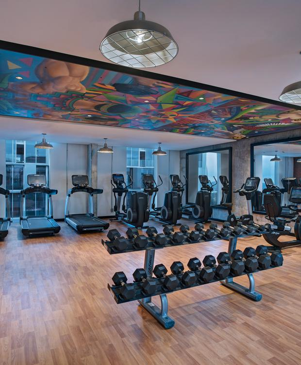 Centro de Fitness Hotel Hyatt Centric Guatemala City Cidade da Guatemala