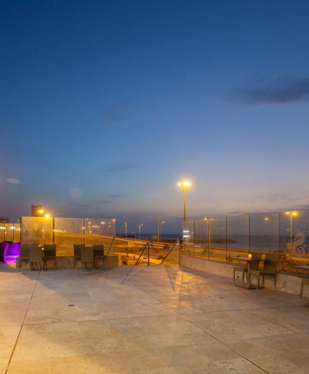 Bar Terraza Corales Hotel GHL Relax Corais de Indias Cartagena das Índias