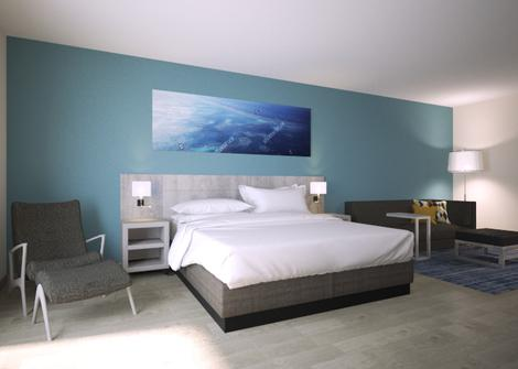 Quarto king bed with sofa bed Hotel Hyatt Place San Pedro Sula San Pedro Sula