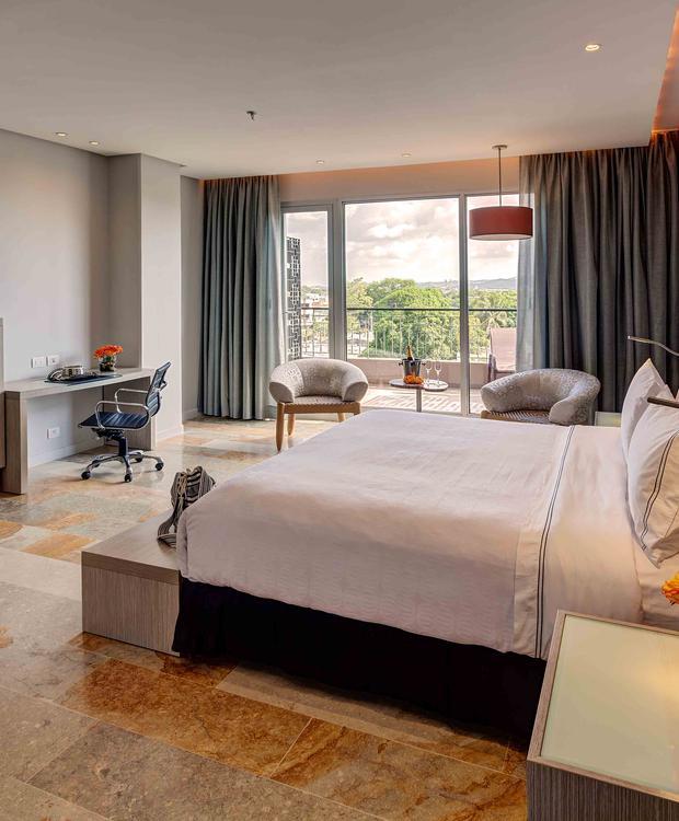 Quarto Junior Suite GHL Hotel Montería Montería