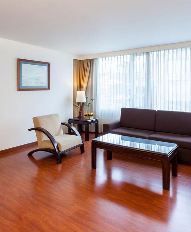Habitación Junior Suite Twin GHL Style Hotel Belvedere Bogota