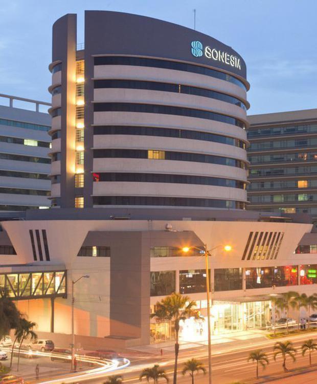 Façada Sonesta Hotel Guayaquil Guaiaquil