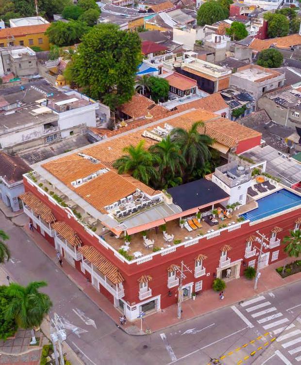 Vista panorâmica Hotel GHL Collection Armería Real Cartagena das Índias