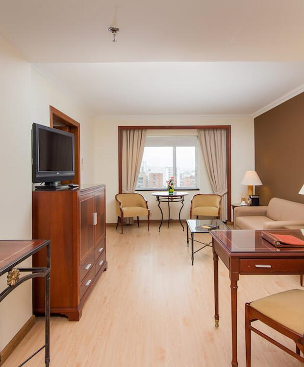 Sala de estar Hotel Tequendama Bogota