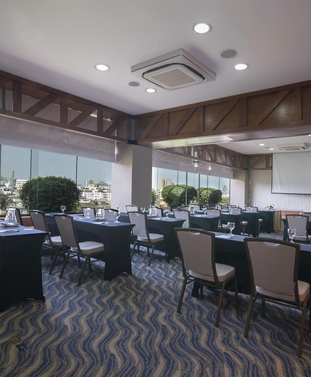 Salas de reunião Sonesta Hotel El Olivar Lima