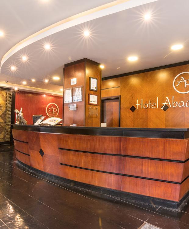 Lobby Hotel GHL Abadia Plaza Pereira